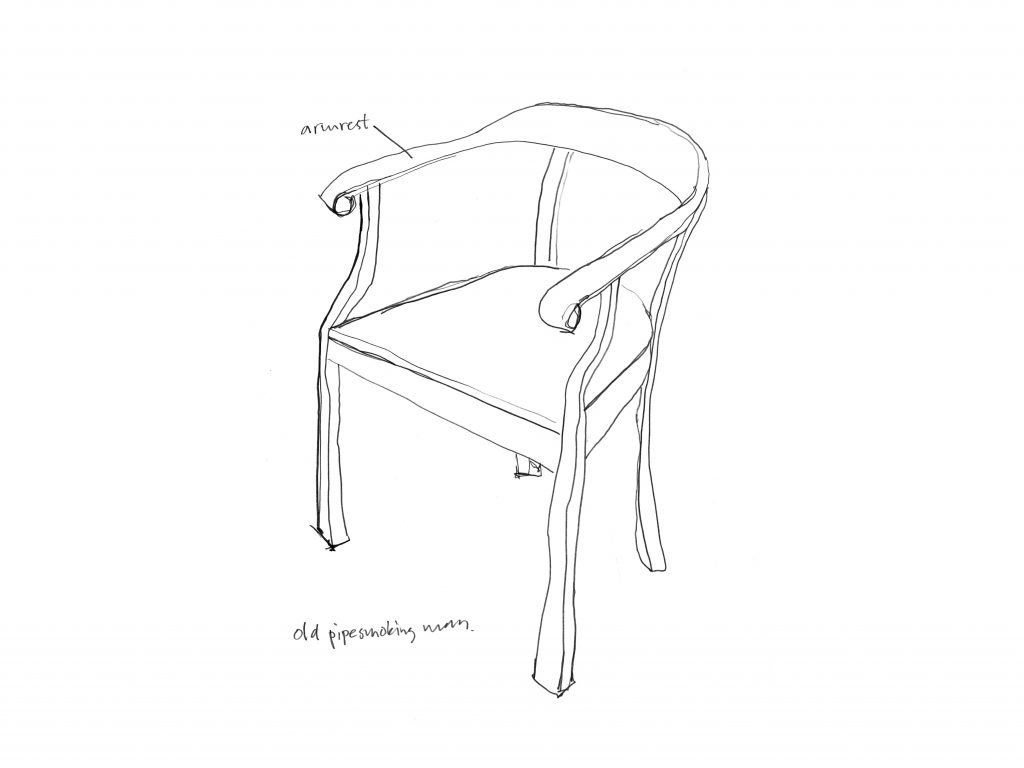 Raw chair sketch