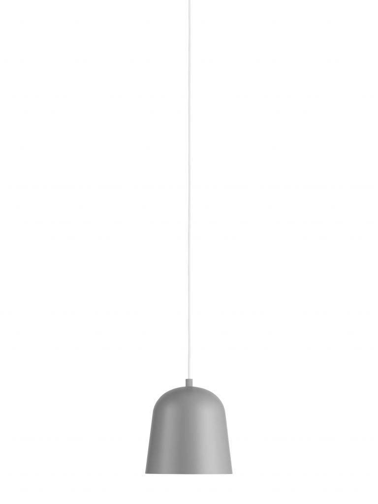 Zero - Convex indoor big pendant grey