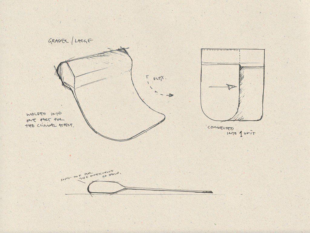 Dough Scrapers Sketch 2